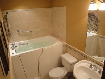Independent Home Products, LLC installs hydrotherapy walk in tubs in Keene