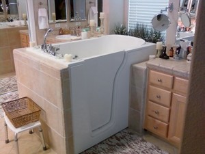 Cincinnati Walk in bathtub installation
